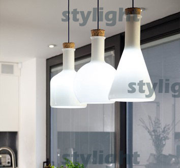 A B C Modern Benjamin Hubert Labware Pendant Lamp Reproduction Lamp glass pendant light magic bottle