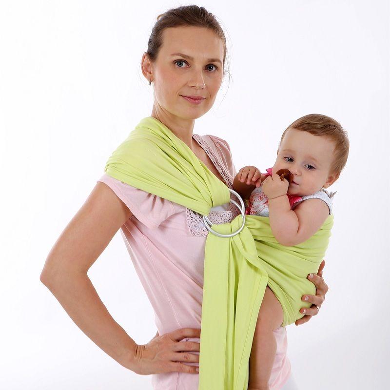 EGMAO Berguna Cincin Katun Ergonomis Hipseat Bayi Kanguru Sling untuk - Aktivitas dan peralatan anak anak - Foto 6