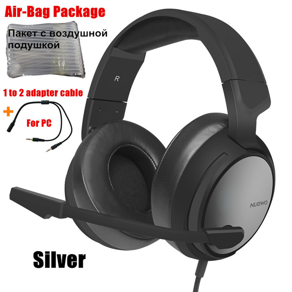 GSUMMER Gaming Headset,7.1 Surround Sound Stereo PS4 Headset with Noise Canceling Mic Suitable for Music//Daily Leisure//Gaming Headset
