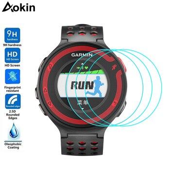 Aokin 3 PcsLot For Garmin Forerunner 220 225 230 235 Tempered Glass 9H Premium Screen Protector For Garmin 235 SmartWatch Film garmin watch forerunner 220