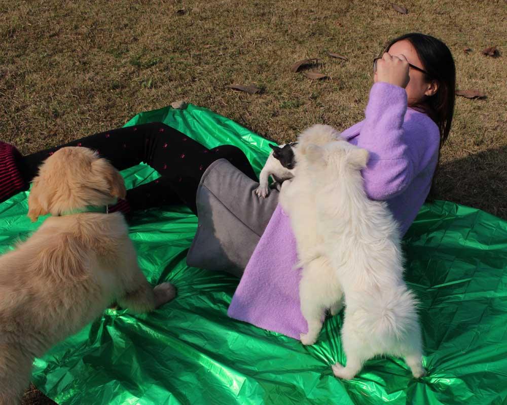 210*130cm Thicken Warming Emergency Blanket Climbing Outdoor Survival Rescue Equ