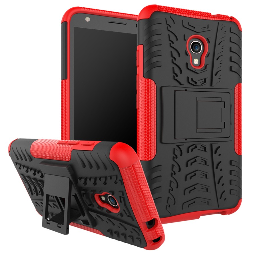For Alcatel Pixi4(4G) 5.0 inch PC+TPU 2 in 1 Hybrid Heavy Duty Armor Stand Case Cover For Alcatel Pixi 4 (5) 5045y 5045X 5045D