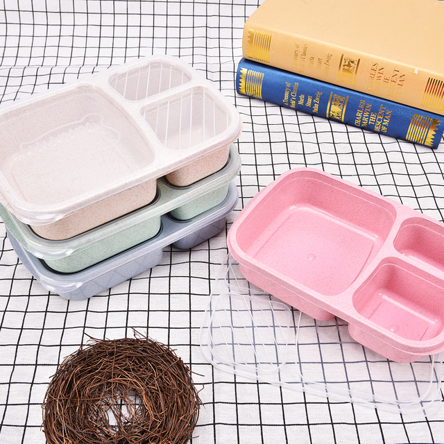 1Pcs Lunch Boxs Containers Kids Picnic Food Container Portable Mini