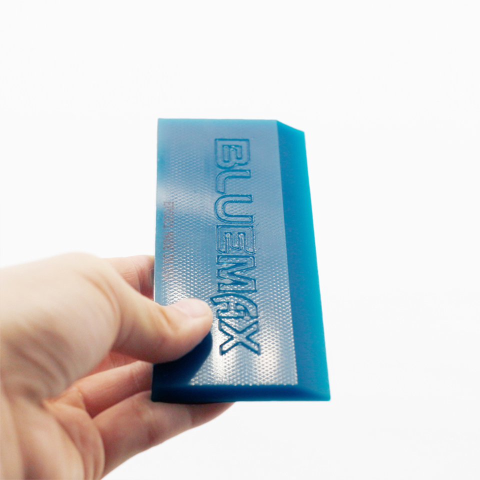 Image 4 - Blue Max Squeegee w/ Beef Tendo Rubber Blades Car Vinyl Film Wrapping Tools Kit MO 108G-in Car Stickers from Automobiles & Motorcycles