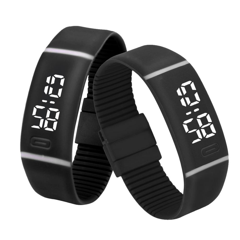 aliexpresscom buy mens womens rubber led watch date