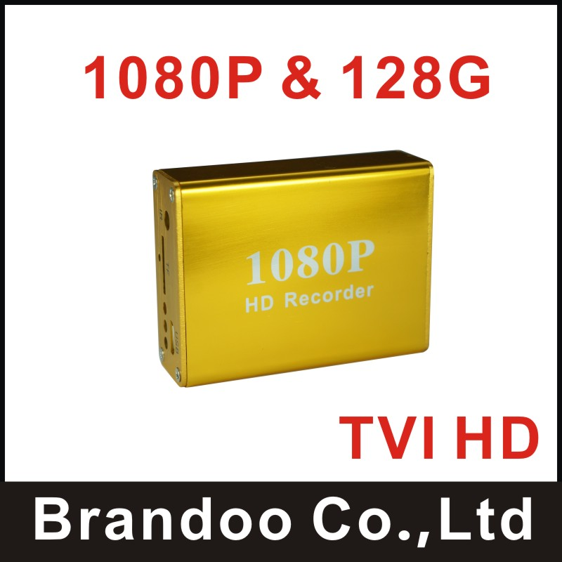 New Arrival 1 channel 1080P SD DVR,golden dvr,works with TVI HD camera, 128GB TF memory,Brandoo BD-3118