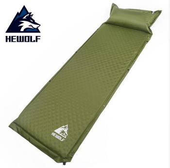 Hewolf 188*65*5cm Single 1 Person Automatic Inflatable Mattress Inflating Cushion Beach Pad Anti Moisture Outdoor Camping Mat