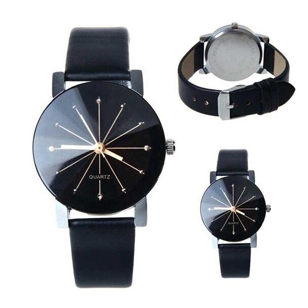 Yueshang Luxury Brand Watches  2019 Relogio Feminino Watch Men Women Top Brand Luxury Watches PU Leather Military Time Clock