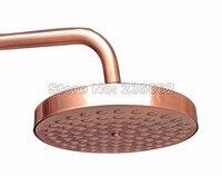โบราณสีแดงทองแดง7.7นิ้วห้องน้ำห้องอาบน้ำฝักบัวสายฝนหัวCsh032