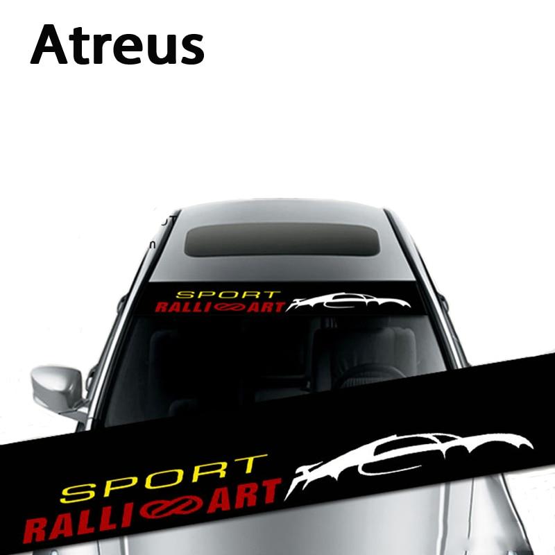 Atreus Waterproof Car Window Front Rear Windshield Stickers For Hyundai Solaris I30 IX35 I20 Accent Volvo XC90 XC60 S80 S60 V70