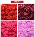 3000 шт./лот Онлайн Свадебные Украшения Мода Искусственные Цветы Полиэстер Лепестки Роз Для Свадьбы Рождество 2016 Casamento