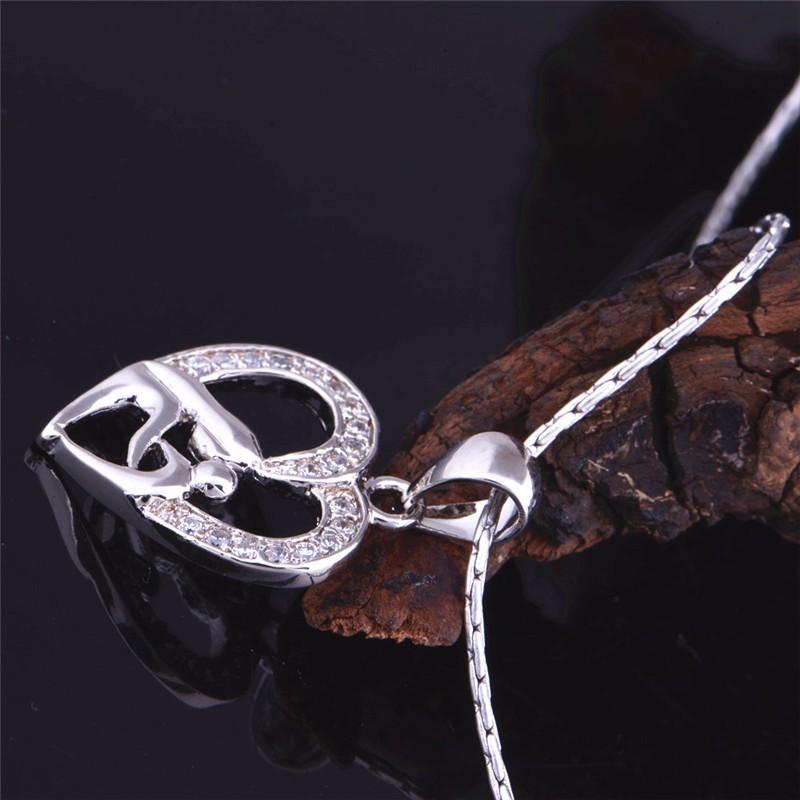 HTB1V4MkNpXXXXX XFXXq6xXFXXXQ - Heart Design Exquisite Silver Pendant