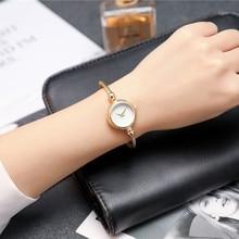 BGG marca mujeres pulsera reloj nuevo de la llegada estilo simple señoras reloj casual señoras reloj de oro de cuarzo de mujer Relojes