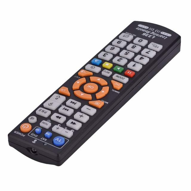 US $2 98 5% OFF|L366 Smart Learning English Remote Control Universal For  Sharp/Roku/Samsung/LG/Sony/TCL/Xiaomi 4K TV Television Remote Control-in