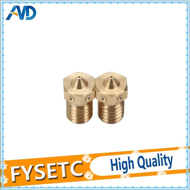 2pcs Super Quality 3D Printer Nozzle V6 Nozzles For 3D Printers Hotend 3D Nozzle E3D Nozzles Titan J-head Extruder 1.75mm Fila