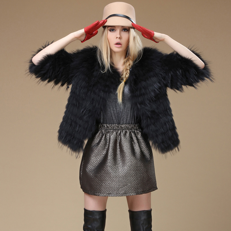 raccoon fur coat Picture - More Detailed Picture about Luxury ...