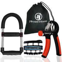 Set von 3 Multifunktions Hand Grip Handgelenk-stärkungsmittel Unterarm Grip Training Kit Einstellbare Hand Greifer Exerciser Fitness Ausrüstung