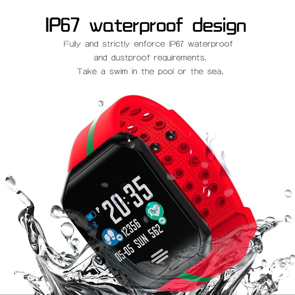 171e897522d0 € 21.73 20% de DESCUENTO|Goral B07 Smart Watch pulsera impermeable presión  arterial Monitor de ritmo cardíaco Fitness Tracker Smartwatch hombres ...