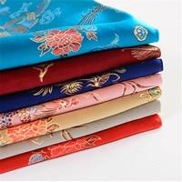 5 Yards High Quality Jacquard Brocade Fabric Chinese Wedding Cloth Fabric National Cloth Fabric Cosplay Antique Cloth Fabric