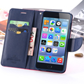 I6 / Plus Fresh PU Leather Stand Display Cover For iPhone 6 6s / Plus 360 Degree Full Body Flip Case Stand Card Slot Wallet Bag