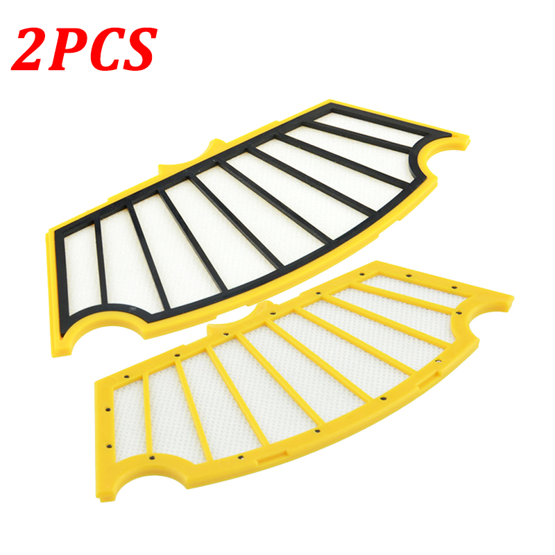 2Pcs Hepa Filters Replacement For IRobot Roomba 500 Series 510 530 535 540 550 560 570 580 Robots Vacuum Cleaner Parts Accessory