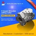 Индексируемый фреза с 90 градусов PE02.11A22.050.04/EMP03-050-A22-AP11-04 подходящая твердосплавная вставка APKT11T3 в SANT company