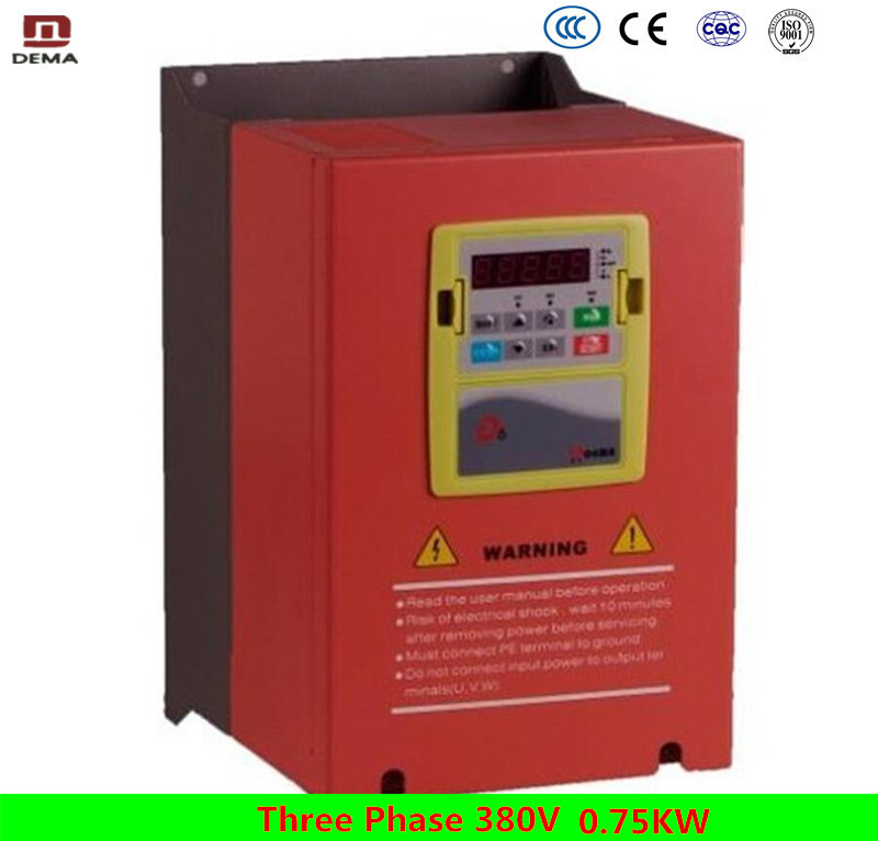 DEMA D6B Series Heavy Duty Vector VF control VFD Motor Variable speed drive Water Pump Solar Drive Variable Frequency Inverter