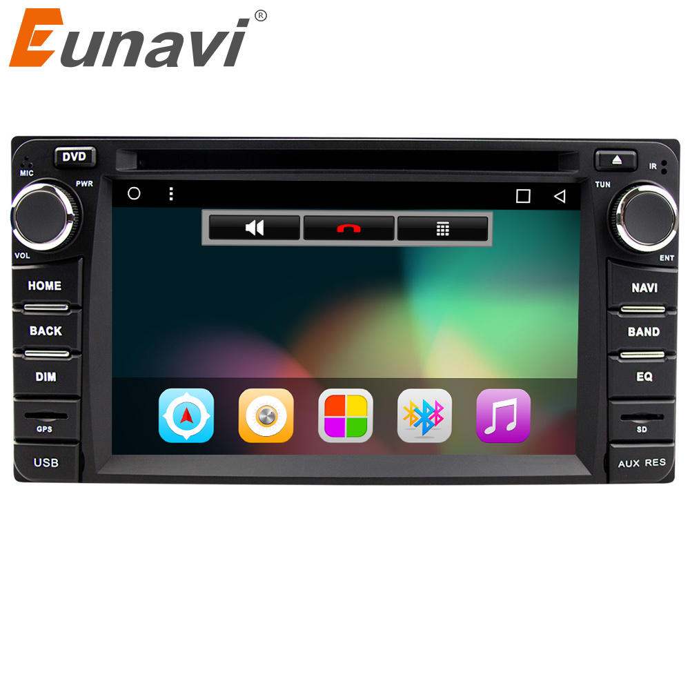 Eunavi 2din Android 7 1 4 Core 2G RAM font b car b font dvd player
