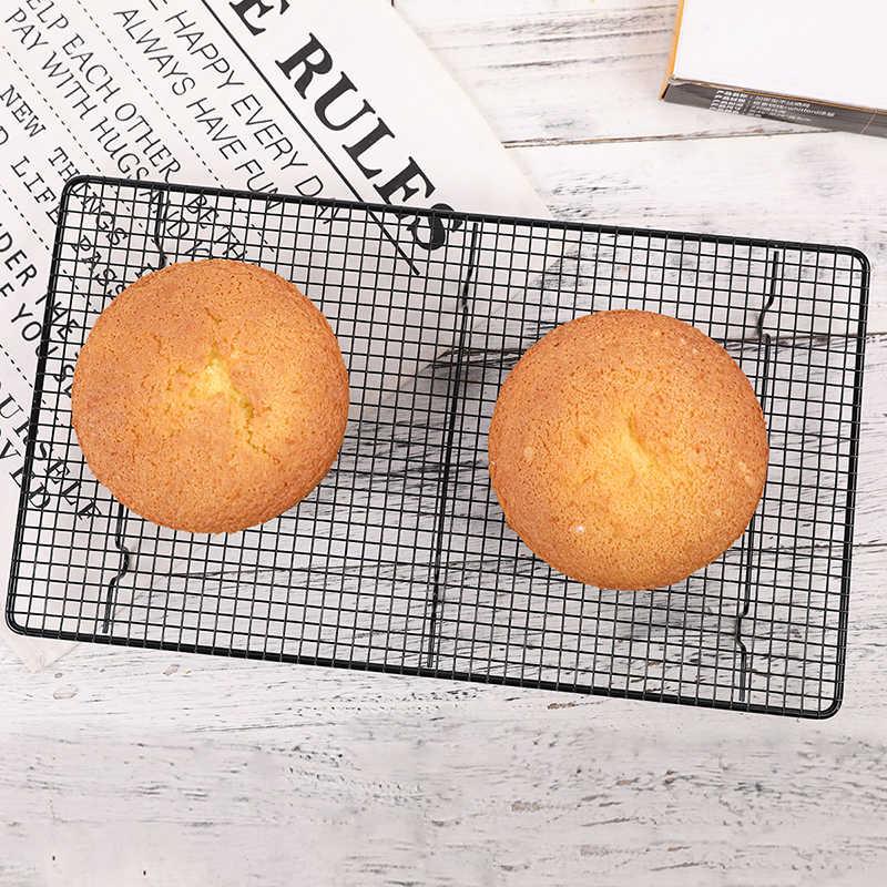 43x23 ซม.Nonstick Cooling Rack เบเกอรี่คุกกี้เค้กขนมปัง Cooling กริดเครื่องมือครัว Pastry เค้กไมโครเวฟชั้นวาง