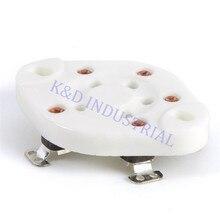 5 sztuk srebrny talerz 5Pin rura ceramiczna gniazdo podstawa zaworu dla 807 27 37 56 76 46 FU7 24 U5A
