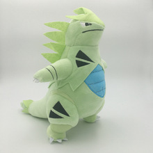 Japanese Cartopn Pikachu series 28cm Tyranitar Cute Plush Doll Stuffed Toys 12 28 CM Children Gift FREE SHIPPING