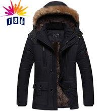 2016 die neue winterjacke Männer Plus dicke samt warmen mantel jacke männer casual kapuzenmantel größe L-4XL5XL