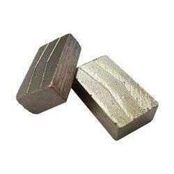 DS05 Glad Snijden Segmenten met geen Chippen D1200mm Diamant Segmenten voor Graniet Blok 23*7.5/7.0/6.5 * 13mm Een Set 80PCS