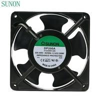 AC 220V fan Für Sunon DP200A P/N 2123XBT.GN 0 14 EINE 12038 220V 120*120*38mm industrielle fall schrank lüfter 120mm|cabinet cooling fans|fan 120mmcooling fan 120mm -