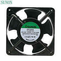 AC 220V fan SUNON DP200A P/N 2123XBT. GN 0.14A 12038 220V 120*120*38mm industrielle fall schrank lüfter 120mm