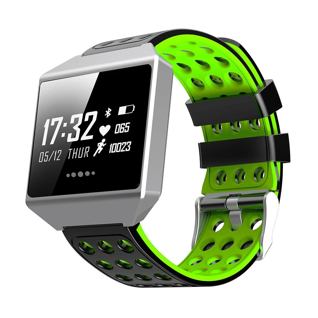 CK12 Smart Wrist Watch Heart Rate Blood Pressure Monitor Sleep Waterproof Dynamic Heart Rate Blood Pressure Sleep Monitor