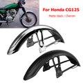 Переднее крыло мотоцикла брызговик для крыла для Honda CG125 матовый черный хром