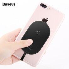 Baseus Qi Беспроводное зарядное устройство приемник для iPhone 7 6 6s Plus беспроводной зарядный адаптер рецептор для samsung Xiaomi Android телефон
