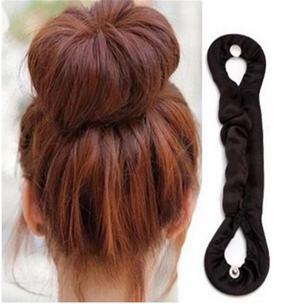 1pc Beauty Bun Maker Twist Curler Hair Roller Coiffure Hair Styling Tools Magic French Sponge Easy DIY Hair Braider