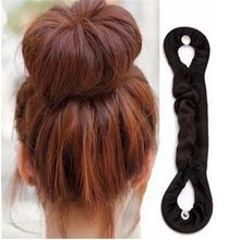 1pc Beauty Bun Maker Twist Curler Hair Roller Coiffure Hair Styling Tools Magic French Sponge Easy DIY Hair Braider