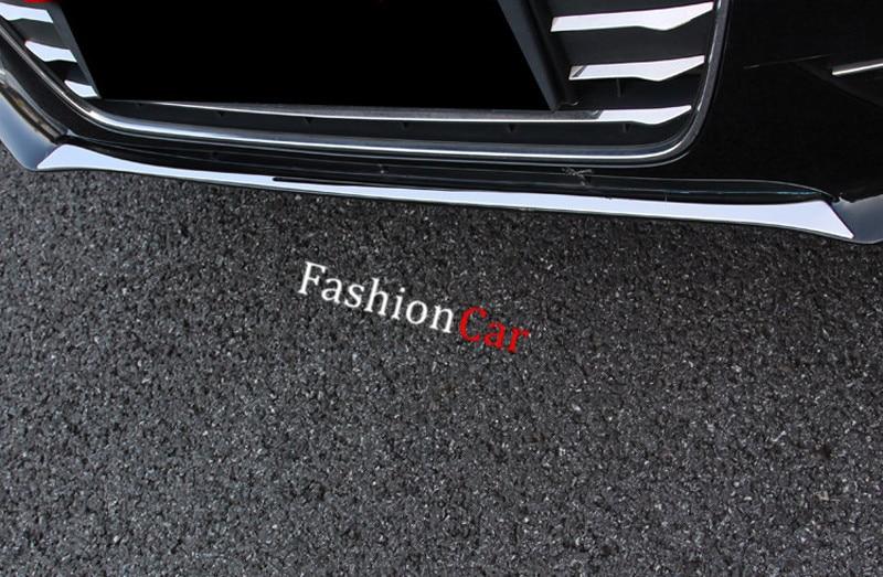Carbon Fiber leather Inner Rear Bumper Sill Guard cover For Audi A4 B9 2017 2018