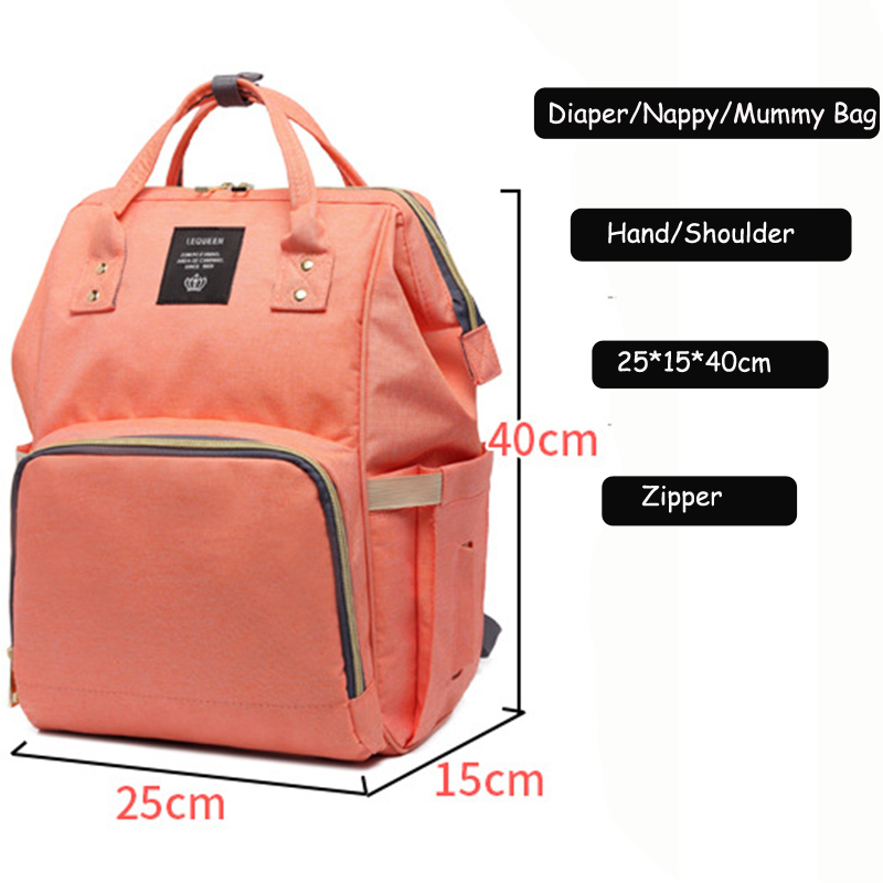 HTB1V4QvXIvrK1Rjy0Feq6ATmVXaL 23 Colors Fashion Mummy Maternity Nappy Bag Large Capacity Baby Diaper Bag Travel Backpack Designer Nursing Bag for Baby Care
