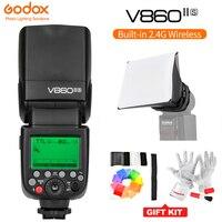 Godox V860II S TTL Speedlite Flash GN60 HSS 1/8000s with Li ion Battery for Sony A7 A7R A7RII A58 A99 A6300 A6500 DSLR MI Shoe