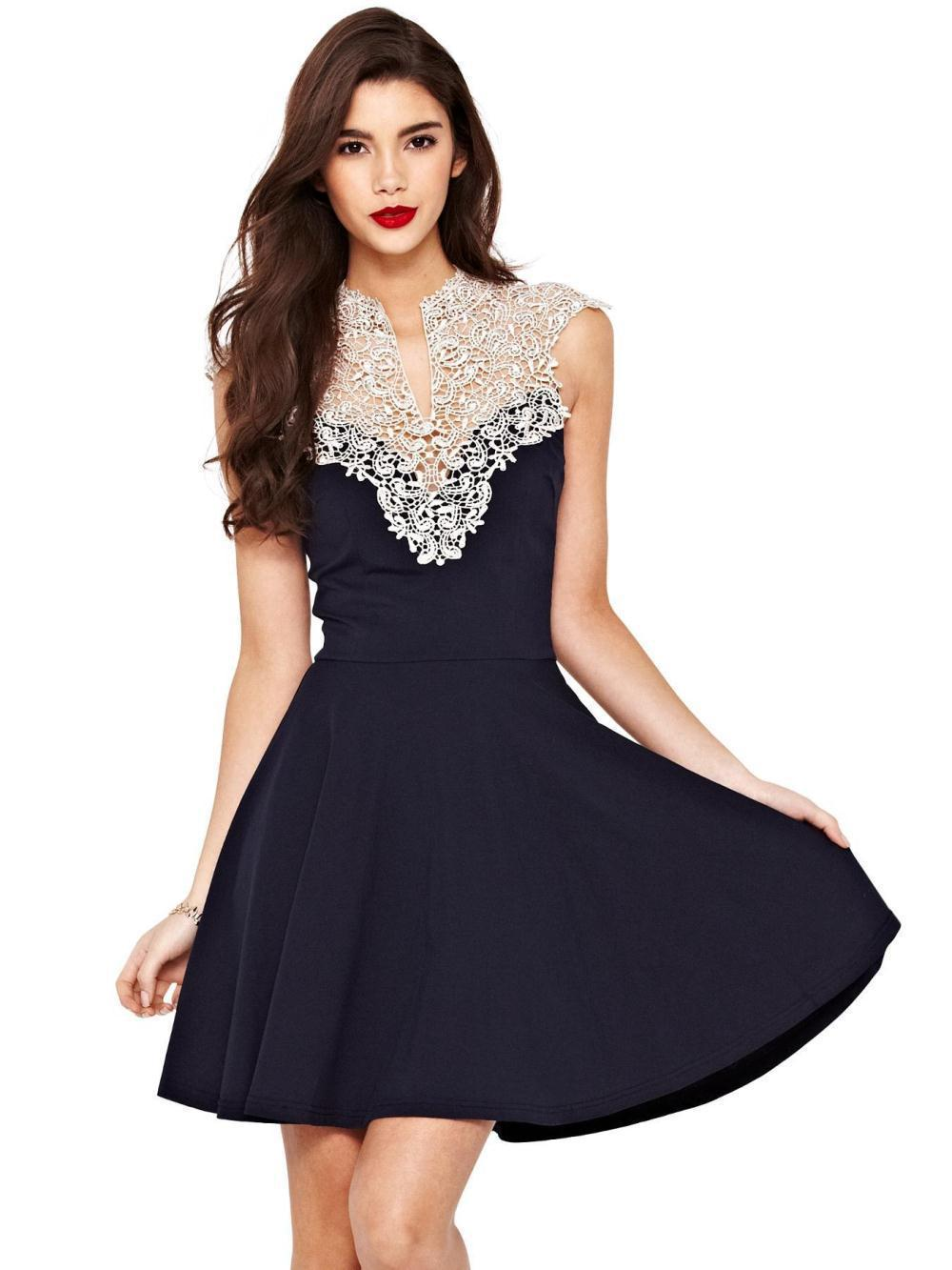 Buy Cheap summer casual dress tropical vestidos femininos 2016 New Women Lace dresses vestido size plus