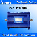 Lintratek New UMTS Cell Phone Amplifier 1900 LCD Display Repetidor De Senal Celular 3G 1900 mhz 70dB Gain Cell Phone Booster S35