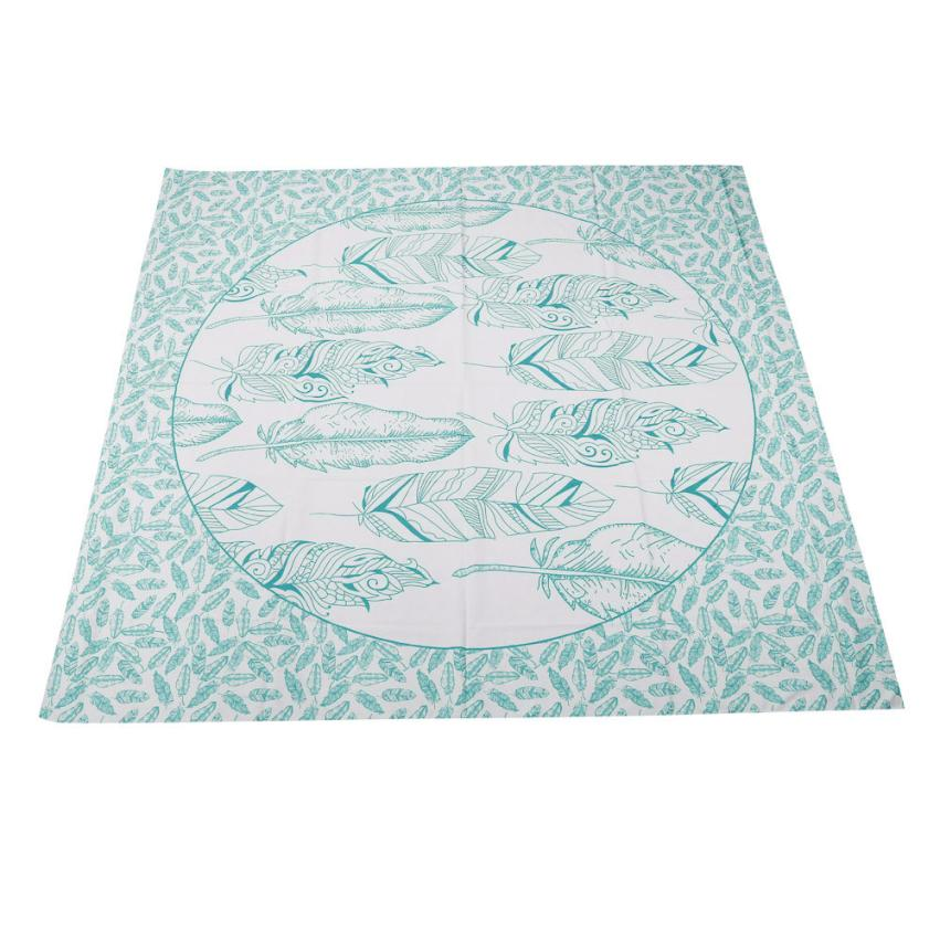 Beach Pool Home Shower Towel Blanket Table Cloth Yoga Mat Diameter 150cm Dec 20