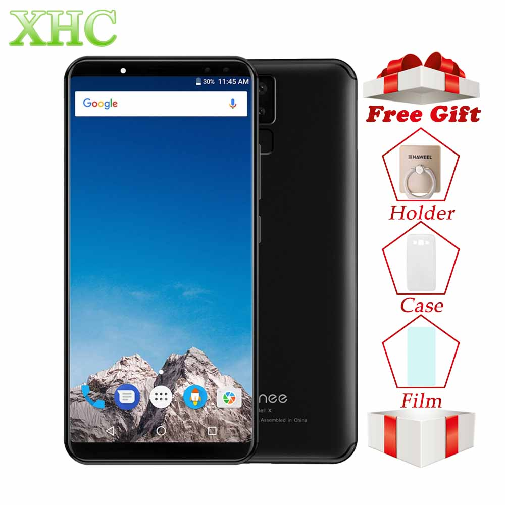 4G LTE VERNEE X 6.0'' 6200mAh 18:9 FHD Smartphones Face ID 4GB RAM 64GB ROM MTK6763 Octa Core 2160 x 1080 Dual SIM Mobile Phones