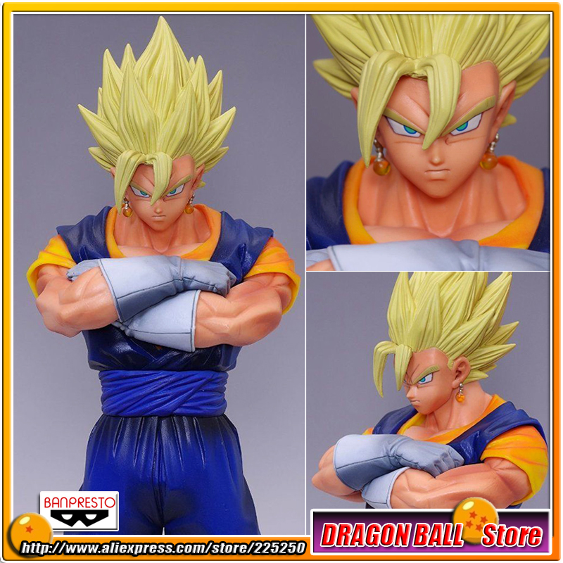 Japanese Anime Dragon Ball Z Kai Original BANPRESTO Master Stars Piece (MSP) Action Figures - Vegetto Super Saiyan top bulma bunny girl dragon ball japanese anime figures action