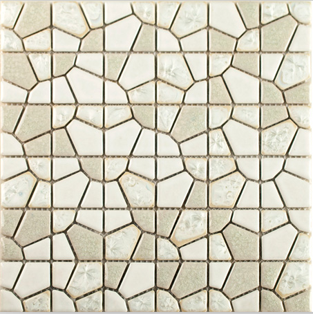 glazed Beige color Diamond design ceramic mosaic tile,Bathroom shower TV kitchen backsplash hallway fireplace wall decor,LSJJY01 natural red color chinese freshwater shell convex seamless mother of pearl mosaic tile for bathroom decoration wall tile