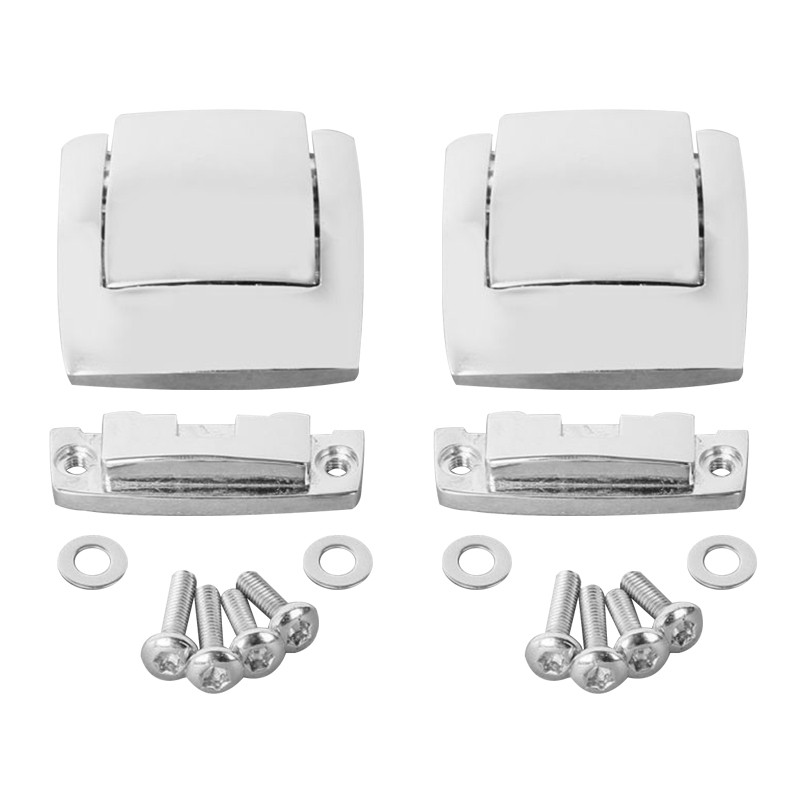 Motorcycle Razor King Tour Pak Trunk Latches For Harley Touring Electra Glide Ultra 80-13